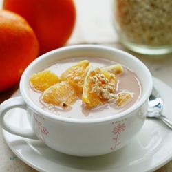甜橙燕麦牛奶的做法[图]