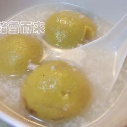 蒸黄米红豆汤圆的做法[图]