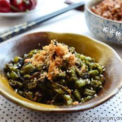 干煸榄菜四季豆的做法[图]