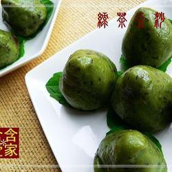绿茶红豆糍的做法[图]