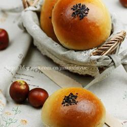 红枣栗子面包的做法[图]