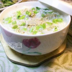 鸭肝香芹粥的做法[图]