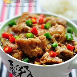 咖喱排骨炖猪蹄