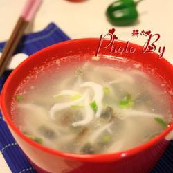 银鱼皮蛋汤的做法[图]