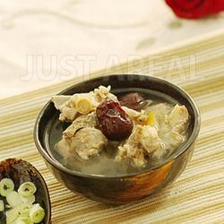 西洋参红枣炖排骨的做法[图]