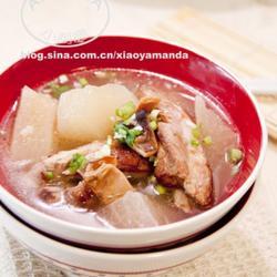 墨魚干排骨蘿卜湯的做法[圖]