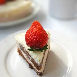 草莓芝士慕斯蛋糕的做法[图]