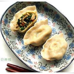 芥兰贝壳饺的做法[图]