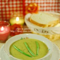 法式四季豆浓汤的做法[图]