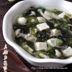 真姬豆腐紫菜汤的做法[图]