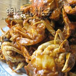 香辣小河蟹的做法[图]