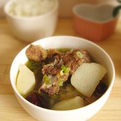 山药红枣牛肉汤的做法[图]