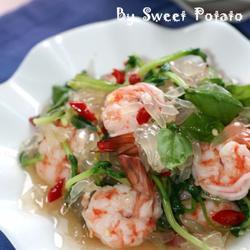 泰式柚子虾沙律的做法[图]
