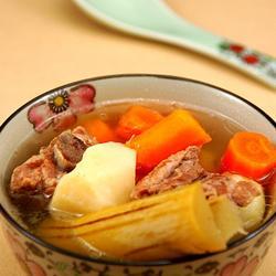 竹蔗红萝卜马蹄汤的做法[图]