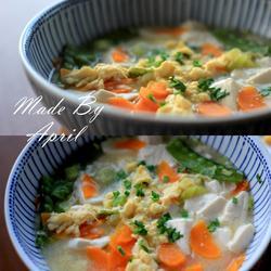 豆腐大葱煮的做法[图]