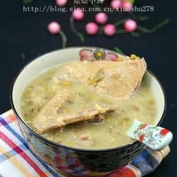 绿豆乳鸽汤的做法[图]