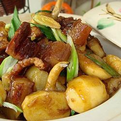慈姑腊肉煲的做法[图]