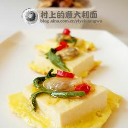 蛤蜊豆腐煎的做法[图]