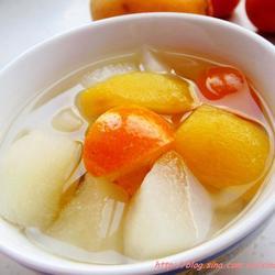 枇杷雪梨金桔汤的做法[图]