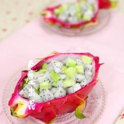 火龙果黄瓜盅的做法[图]