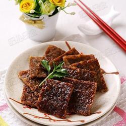 黑胡椒猪肉脯的做法[图]