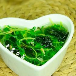 豌豆苗虾皮汤的做法[图]