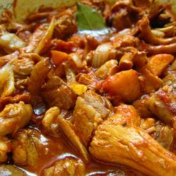 茄汁蛋菇炖羊肉的做法[图]
