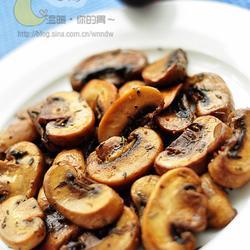 黄油口蘑的做法[图]