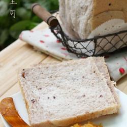 紫米土司的做法[图]