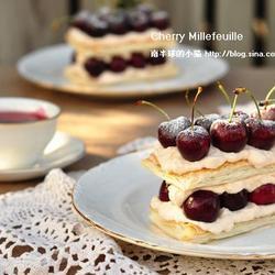 樱桃奶油千层酥的做法[图]