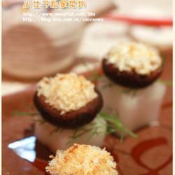 芝士蒜烤香菇的做法[图]