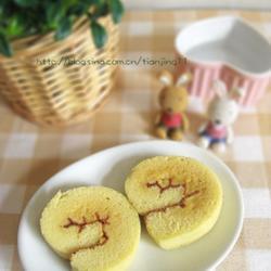 茯苓蛋糕卷的做法[图]