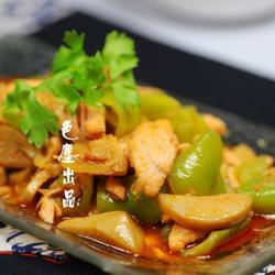 柠香爆炒三文鱼的做法[图]
