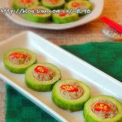牛肉豆腐笋瓜盅的做法[图]
