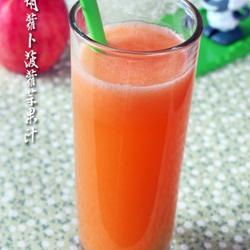 胡萝卜菠萝苹果汁的做法[图]
