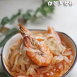 白萝卜炖虾的做法[图]