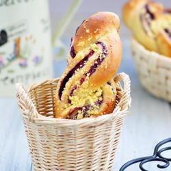紫薯麻花包的做法[图]