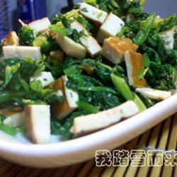 芹菜和菠菜做的做法[图]
