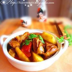 西紅柿土豆燉牛肉的做法[圖]