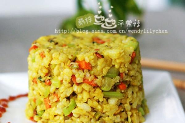 咖喱糙米饭