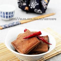 茶香卤豆腐干的做法[图]