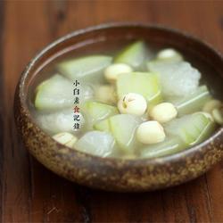 冬瓜莲子汤的做法[图]