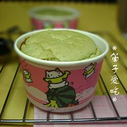 绿茶清水蛋糕的做法[图]
