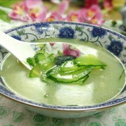 皮蛋黄瓜汤的做法[图]