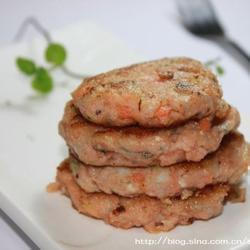 红萝卜鱼饼的做法[图]