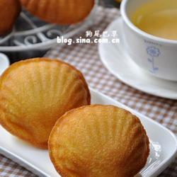 橙皮柚子酱玛德琳的做法[图]