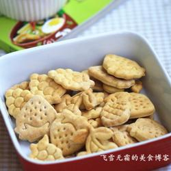 牛奶苏打饼干的做法[图]