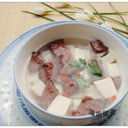 鸭血豆腐汤的做法[图]