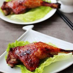 蜜汁酱烤鸭腿的做法[图]