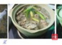 红烧豆角干粉条炖排骨吃腌菜配酒图片